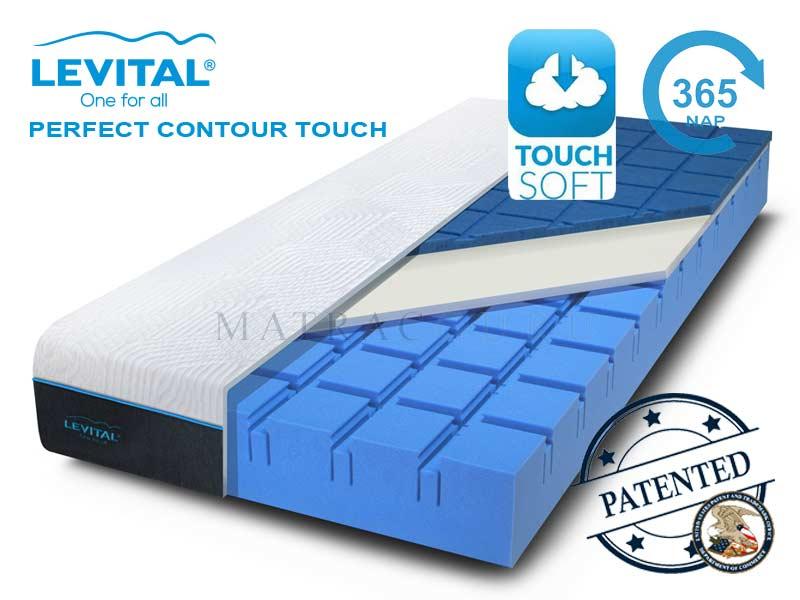 levital contour touch matrac