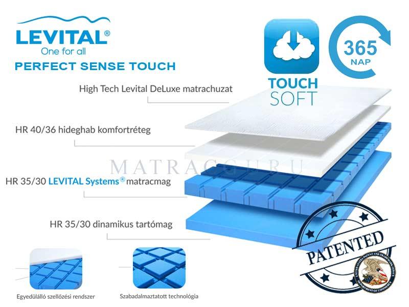 levital sense touch matrac