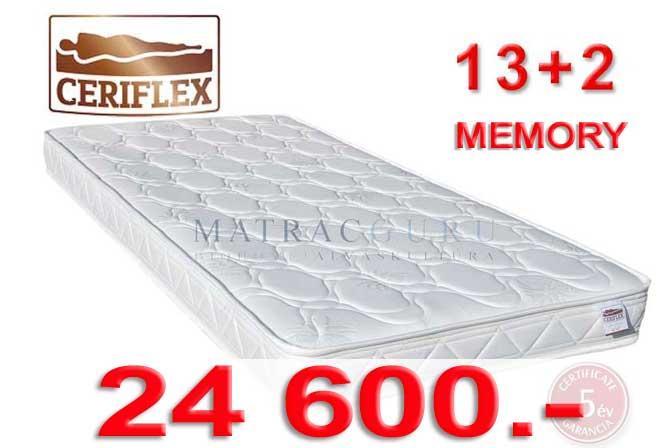 Ceriflex 13+2 memory matrac