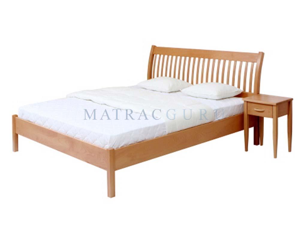 MatracGuru - Marbella tömör bükkfa ágykeret. Tömörfa küllős fejvéggel
